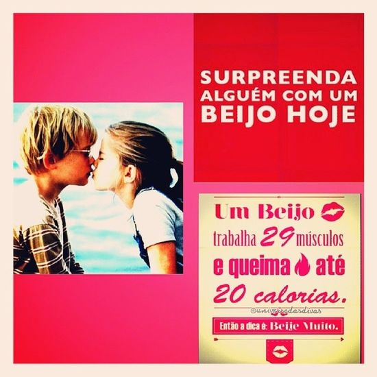 Meus amores, FELIZ DIA DO BEIJO!!! =**