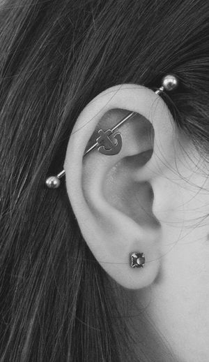 That's Me Piercing Ear Piercing Mine Love This  Nice Cool Like It 😚