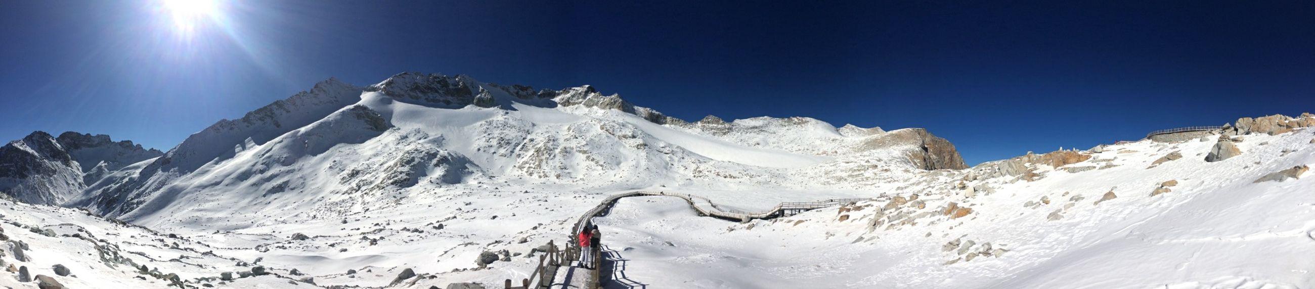 Mountain High Altitude Enjoying Life