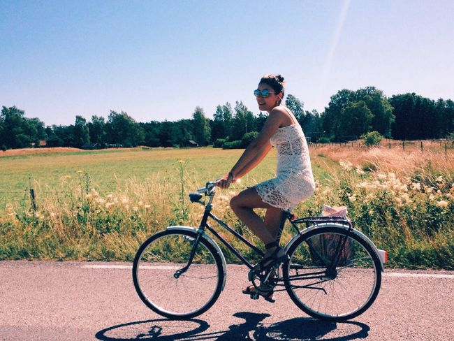 Biking yeah Biking Summer Vibes Chillabration Enjoying Life