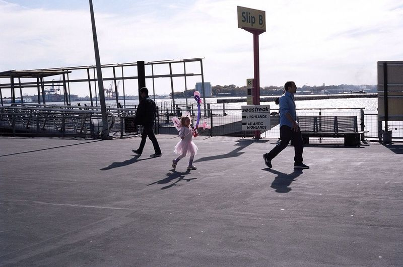 Kodak Portra New York Afternoon Kids