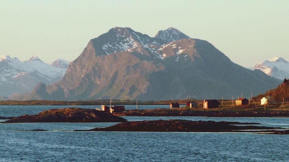 Norge Norwegen Norway Sea Norwegian Sea Mountain Vandve Cold Day