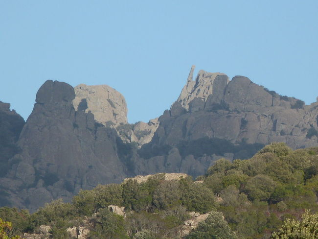Tranquil Scene Sardinia Sardegna Italy  Landscape Beauty In Nature Mountain Peak Tranquility Day Outdoors Mountain