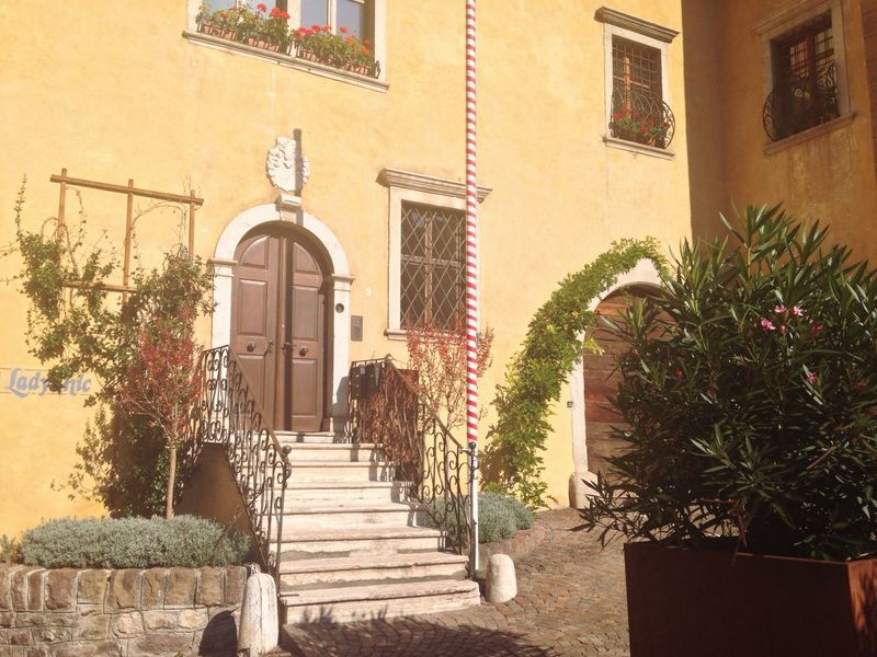 283/365 October 10 One Year Project 2017 South Tyrol Trentino Alto Adige Italy House Caldaro Weinstraße Südtirol Architecture Built Structure Building Exterior Steps Staircase Steps And Staircases Plant Day Outdoors No People