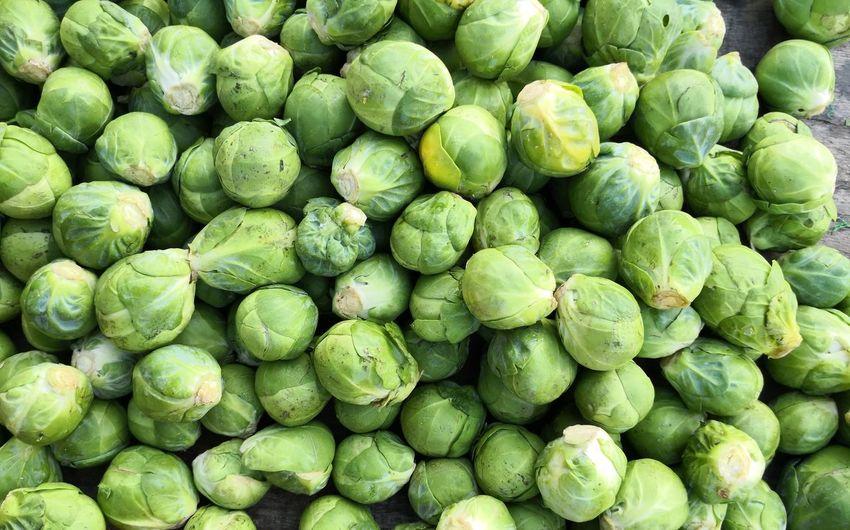 Full frame shot of fresh green market