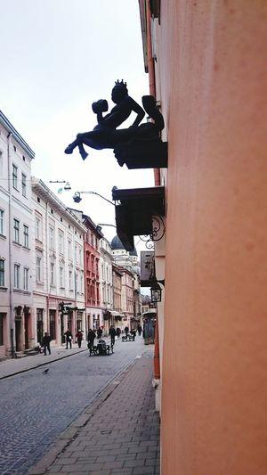 Medieval Medieval Architecture Devil Art ArtWork Wall Art Buildings львів