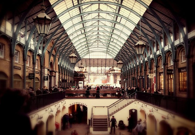 London Lifestyle Covent Garden Architecture Shopping Mall