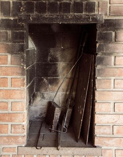 Asador Asador Criollo Brick Grill Herramientas Ladrillo Pared Tools Wall