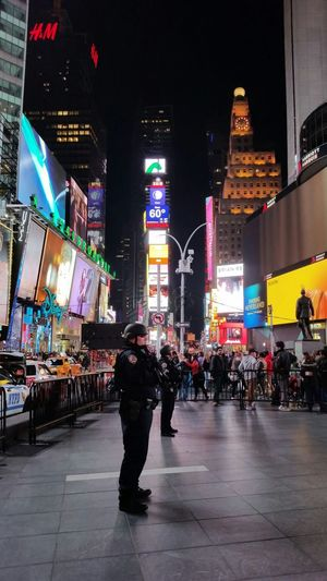 The New Normal TimesSquare Times Square NYC NYPD Times Square NYPD Police Newyorkcity New York NYC NYC Photography Cityscape Check This Out Thenewnormal Night Nightphotography Night Lights The Best Of New York NYCImpressions Citylife Ilovenewyork Terrorism Security Nycprimeshot
