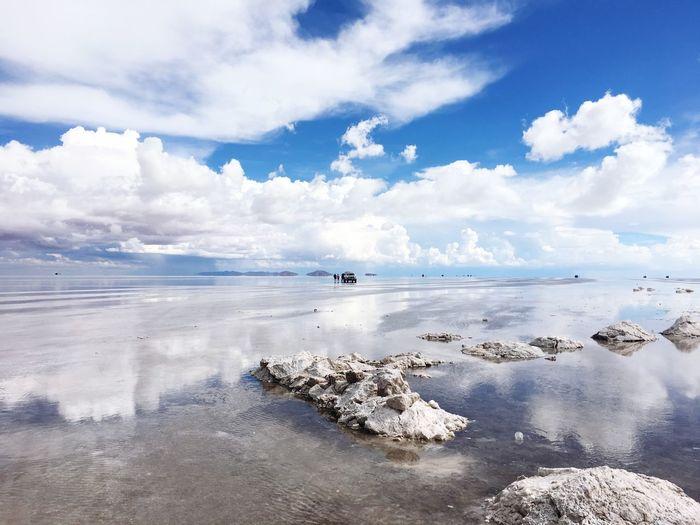 EyeEm Selects No People Landscape Nature Sky Beauty In Nature Outdoors Salt - Mineral salar de Uyuni