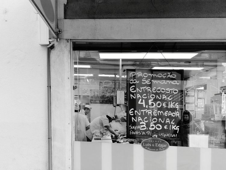 Shop Around The Corner Shop Food Shop Food Store Local Shop Local Life Meat Shop Meat! Meat! Meat! Lisbon Lisboa Lisboa Portugal Local Business Business Finance And Industry Business Store See The World Through My Eyes Black & White Black And White Monochrome Monochrome Photography EyeEm Best Shots Exploring The City Streets Black And White Photography B&w Street Photography B&w