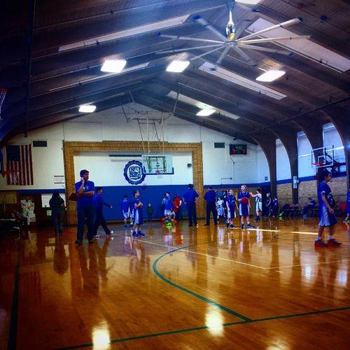 It's a basketball weekend. Gomichael Blues