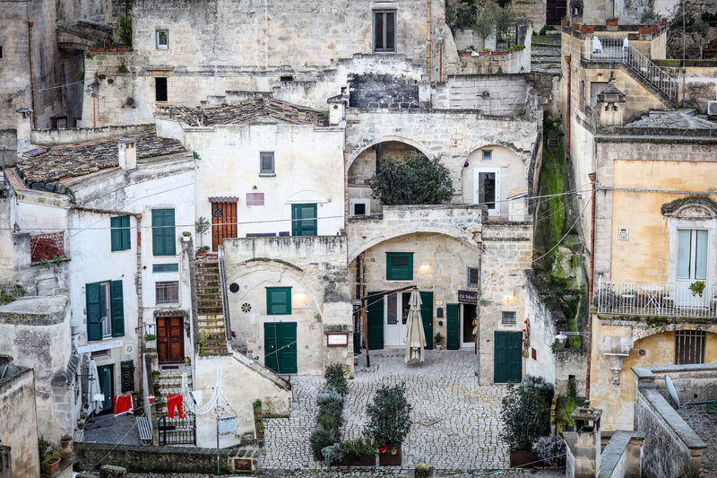 Matera Matera Matera Italy Matera2019 Matera - Capitale Della Cultura Matera View Architecture Building Exterior Built Structure Town No People Outdoors Day Old Travel Destinations Residential District City Travel History The Past Historical