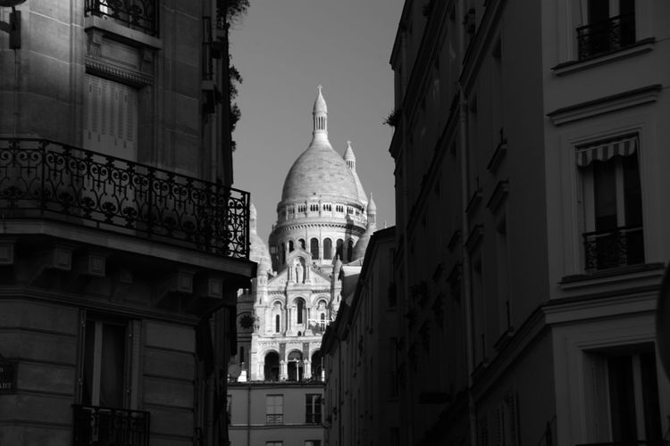 Famous church in paris