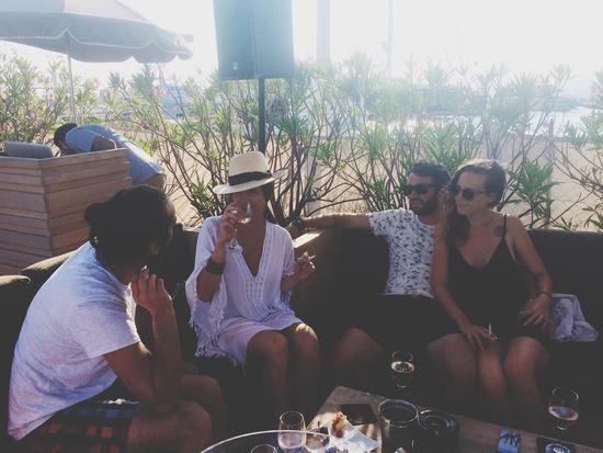 Friends Sun Wine Beach Cannes Hardlife