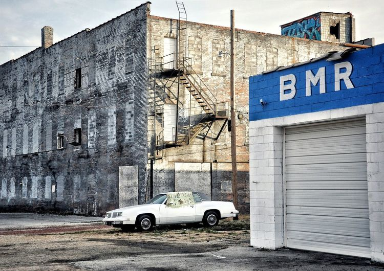 Urban Photography Oldsmoblile Cutlass Oldsmobile Cutlass Supreme Shadows & Lights Body Shop  Street Photography Fire Escape Getaway  On The Run Abandoned Warehouse Showcase: November