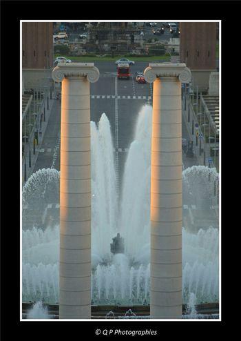 Water Games Jeux D'eau Espagne SPAIN Catalunya Barcelona Architecture Barcelone Musee Des Arts Catalans Museu