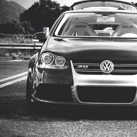 Golf R32 Black And White Iphonography