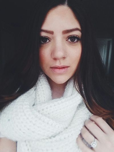 Snowy day vibes Faces Faces Of EyeEm Girl Browneyedgirl SnowedIn