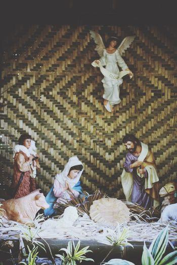 Waiting waiting game For Jesus The Savior Christmas Around The World Angel Mama Mary Eyeem Philippines Bethlehem Belén Manila Philippines