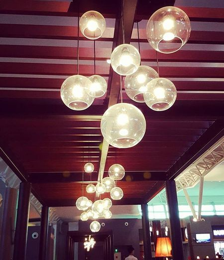 Designerlight Hanginglamp Cafelamp KLIA2 l4l Love the ambient created by this lamp ☺