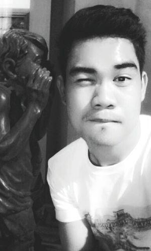 Whisper Blackandwhite Selphotography Selpic Sculpture That's Me Hello World Enjoying Life Hi! Follow4follow Like4like