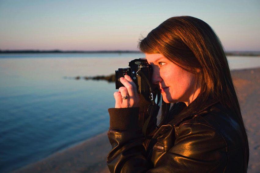 Open Edit Taking Photos Sunset Portrait