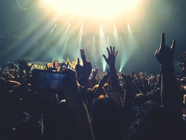 ONE OK ROCK Zenfone Photography Oneokrockconcert 35XXXV Asia Tour Philippines Moa Arena,Philippines January 19, 2016