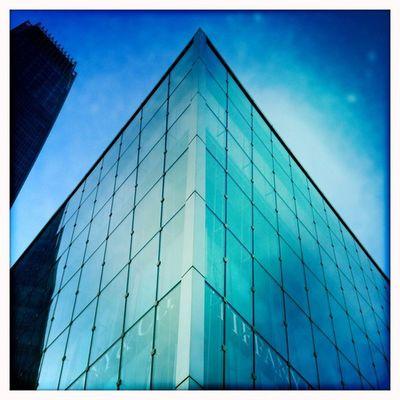 Blue City! Hipstamatic Johns Blanko