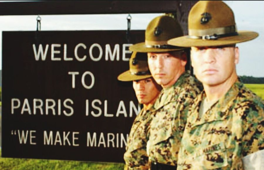 Welcome to the Marine Corps USA Us Military USMC Parris Island