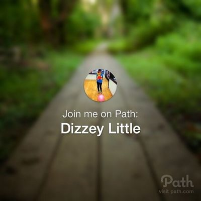 Join me on Path :