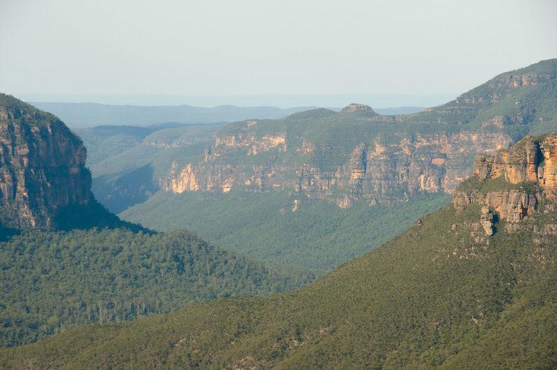 Govett's Leap Lookout - Blue Mountains Australia Blue Mountains Govett's Leap Lookout Mountain Nsw Scenics - Nature