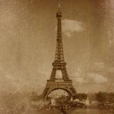 Day22 Julychallenge July2014 Vintage paris Eiffeltower