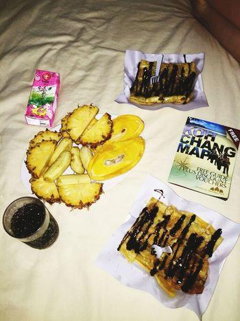 Ko Chang Lunch Island Thailand Banana Pancake