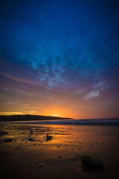 Beach Water Sea Sunset Scenics Beauty In Nature Sand Sky Nature Cloud - Sky Outdoors Horizon Over Water