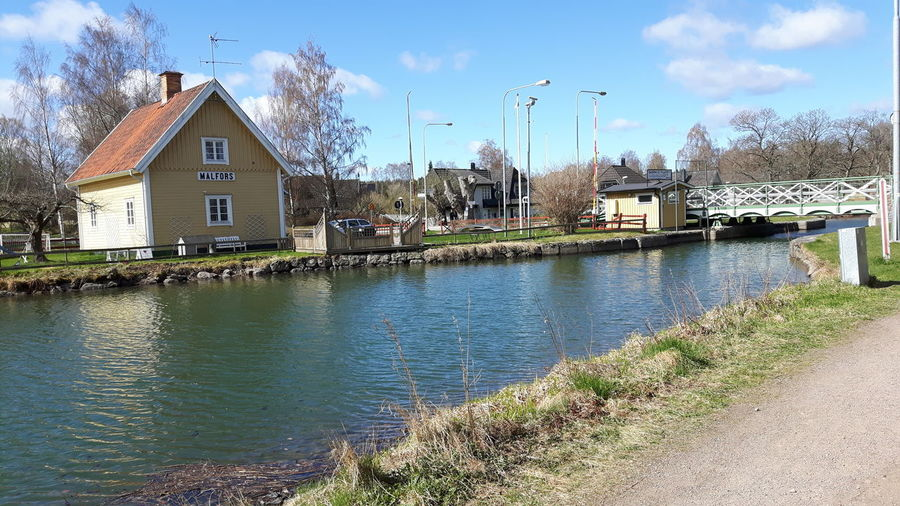Water Architecture Built Structure Building Exterior House Outdoors No People Sweden ❤️ Travel Destinations Götakanal