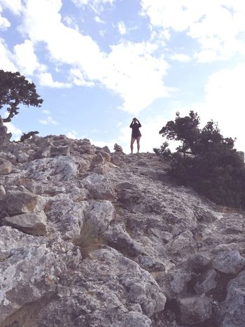 Live For The Story Adventure One Person Cloud - Sky Rock - Object Climbing Standing Mountain Outdoors Nature