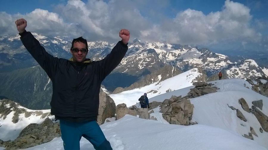 Beauty In Nature Mountain Pirineo Aragon Sky Snow