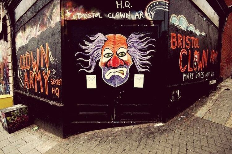 Clownsec Street Art Graffiti Street Art/Graffiti The Clown Army