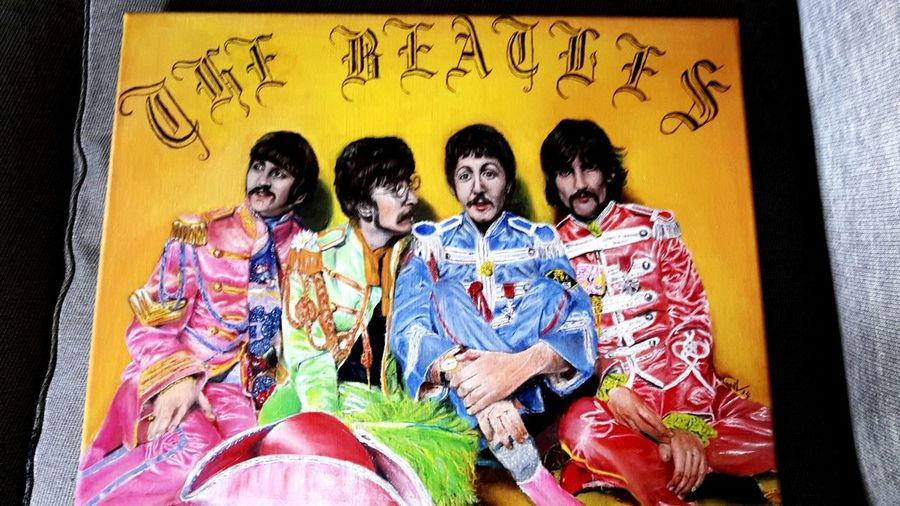 Art Sreet Art The Beatles Oldschool Music STORY! 🎤
