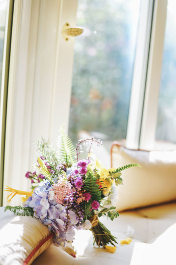 Bouquet Close-up Day Flower Flower Head Fragility Freshness Indoors  Nature No People Window