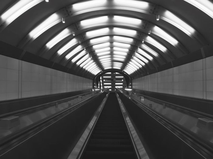 E uscimmo a riveder le stelle No People Hurban Subway Escalator Staircase Stairs Transportation Indoors  Technology Built Structure Architecture The Way Forward Day