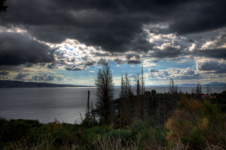 Cloudy skies over Corfu Cloud GREECE ♥♥ Beauty In Nature Cloud - Sky Clouds Clouds And Sky Day Grass Greece Horizon Over Water Landscape Nature No People Outdoors Scenics Sea Sky Storm Cloud Tranquil Scene Tranquility Tree Water