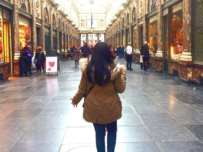 Small town girl in a big world. Womenaroundtheworld EyeEmNewHere Architecture Brussels Belgium Womenwhotravels Freedom Women Around The World