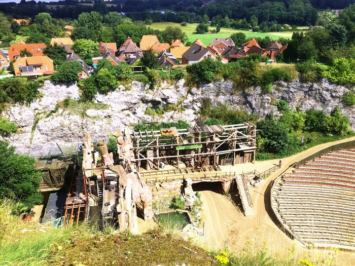 Kalkberg Schleswigholstein Karlmayfestspiele House Building Exterior Day Built Structure Outdoors High Angle View Tree Architecture Beauty In Nature Roof Nature No People EyeEmNewHere EyeEm Ready   EyeEm Ready   EyeEmNewHere An Eye For Travel