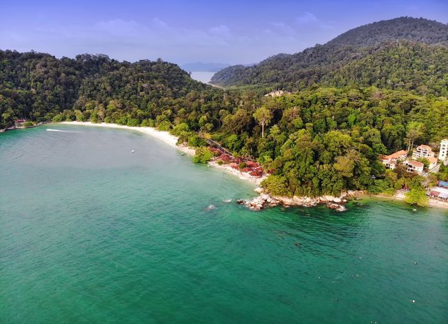 Beautiful tropical island aerial view View Beach Sea Seascape Island Travel Travel Destinations Nature Outdoor Beautiful Aerial Shot Aerial Photography Getty Images EyeEm Best Shots EyeEm Selects Beauty In Nature EyeEm Nature Lover Malaysia Dronephotography Holiday Tree Water Mountain Pinaceae Lake Sky Landscape Shore Aerial View Sandy Beach