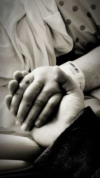 Holding Hands Last Moments Together? Memories Grandmother Hanging On Love Worlds Best