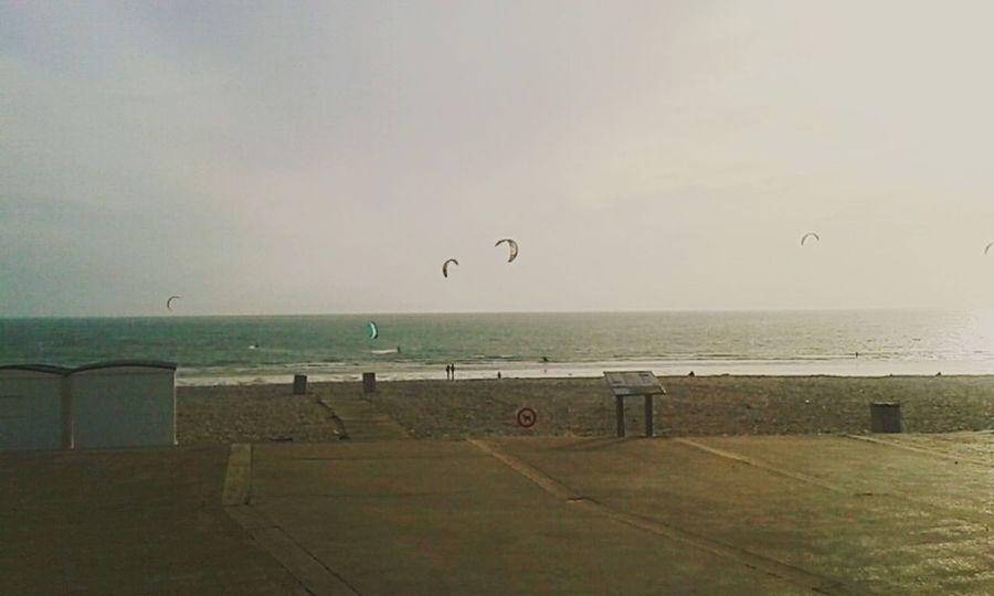 Walk in my hometown ! Sea Beach Kitesurfing Sun Sea And Sky Seascape Enjoying The Sun First Day Of Summer LH Beach Cabins