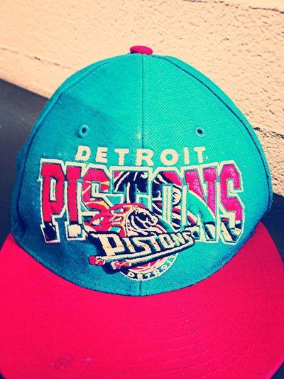 #PistonsThrowback #Snapback