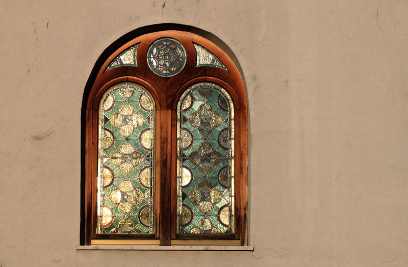 Architecture Closed December 2015 No People Old-fashioned Ornate Parcines,sudtirol Sunlight Wall Window Wintertime